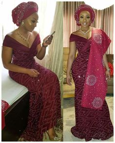 African fashion is available in a wide range of style and design. Whether it is men African fashion or women African fashion, you will notice. Nigerian Wedding Dress, Nigerian Dress, African Wedding Attire, African Attire, African Wear, African Lace Styles, African Lace Dresses, African Fashion Dresses, Nigerian Lace Styles