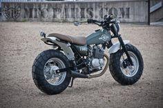 1 SUZUKI VANVAN VAN-VAN TWO-14 Army MFC Design - Préparation motos, peinture, design, tuning, Suzuki - Kawasaki Plus
