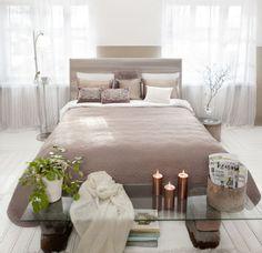 Lennol, sängynpääty, koristetyyny, sisustusideat, sisustusidea