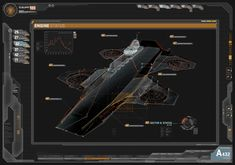 A Look Behind THE AVENGERS User Interface Designs; Helicarrier Screens And Iron Man HUD (670×471)