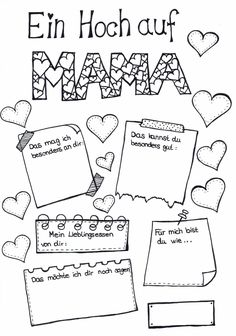 MuttertagThanks lehrermarktplatz for this post. This template can be filled in and designed to match Mother's Day. Love Quotes For Him Boyfriend, Boyfriend Gifts, Diy Gifts For Dad, Fathers Day Gifts, Kindergarten Portfolio, Gratis Download, Mom Day, Last Minute Gifts, You Are The Father