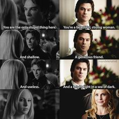 [1x08 - 6x15] Damon and Caroline have changed so much,  and I think for good #tvd