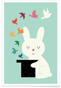 Magic Of Peace als Premium Poster von Andy Westface | JUNIQE shop