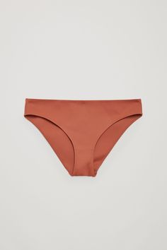 High-cut bikini bottoms - Terracotta - Swimwear - COS DK