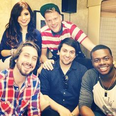 Pentatonix I've never been this big of a fan of any band or singer.  I've loved them since the Sing Off.  I used all my votes on them.  So happy they've had such success.  They are very deserving of it.  =)  <3 <3
