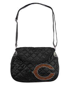 Chicago Bears NFL Sport Noir Quilted Saddlebag