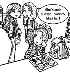 Wow!! Mackenzie's mom and Nikki's mom are really mean to Nikki. To know what happened to Nikki in this pic, go to dorkdiaries.com