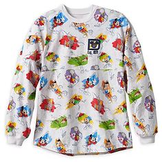 Disney Ink & Paint Spirit Jersey - Walt Disney World - Shop all things Disney - Disney Eras, Disney Style, Classic Cartoon Characters, Classic Cartoons, Walt Disney Characters, Walt Disney World, Disney Parks Merchandise, Walt Disney Animation Studios, Disney Outfits