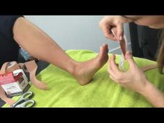 Bunion Taping with Dynamic Tape - YouTube