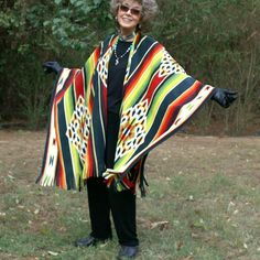 Southwestern or Ultra Native American Design Anti Pill Fleece Shawl or Wrap-- One Size Fits Most on Etsy, $39.50
