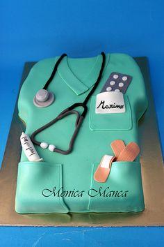 Coat Nurses cake