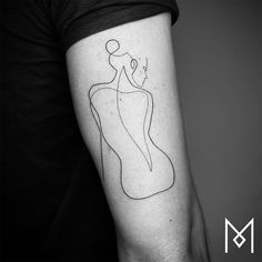 Minimalist Tattoo Single Line Tattoo Line Tattoos One Line Tattoo Mo Ganji