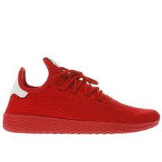 9744fe753ba1c  Adidas red pharrell williams tennis hu trainers  Multimedia mogul
