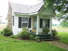 Farm guest cottage.