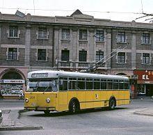 Trolebuses en Valparaíso - Wikipedia, la enciclopedia libre