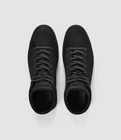 Herren Crescent Hi Top (Charcoal) - product_image_alt_text_4