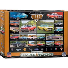 From the drive thru to the drive in, you would be turning heads in any of these classic rides. The gave us some of the finest automobiles in history, see them all with our classic car piecesMade by EurographicsCompleted puzzle measures Puzzle Cube, Puzzle 1000, Puzzle Pieces, Josephine Wall, Road Trip Usa, Claude Monet, Lamborghini Aventador, Vincent Van Gogh, Puzzle Star Wars