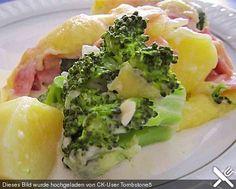 Brokkoli-Kartoffel-Gratin mit Schinken, ein schönes Rezept aus der Kategorie Auflauf. Bewertungen: 56. Durchschnitt: Ø 4,4.