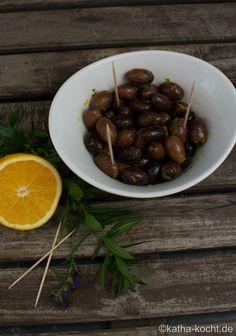 Tapas - Oliven mit Orange und Ysop - Katha-kocht!