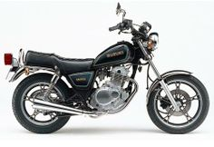 Photo of 1985 Suzuki 250cc. Similar to one I once owned.