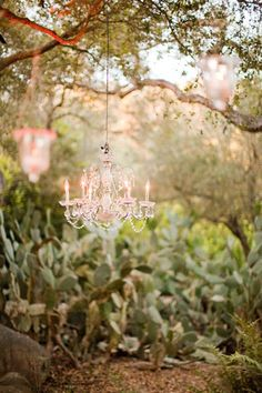 Garden Chandeliers at ModVintageLife.com