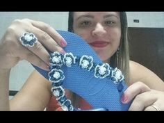 Diy Seu Lindo Chinelo Decorado em Tons de Lilás - Maguida Silva - YouTube