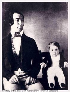 Charles S. Stratton and his father, Seth Sherwood Stratton.
