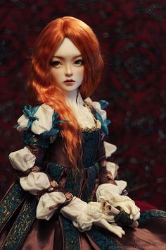 Red haired witch Kira by Sion Darkness on Flickr.