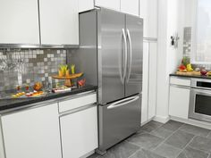 French Door Kitchen Refrigerators  -  Kitchen refrigerators are among the most common household appliances as they are used to keep sensitive food items fresh and safe for consumption. Whi... Check more at http://www.xtend-studio.com/21421-french-door-kitchen-refrigerators/