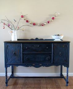 Picked & Painted: Soldier Blue Buffet