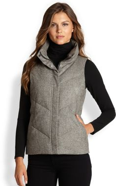 grey vests womens - Google Search