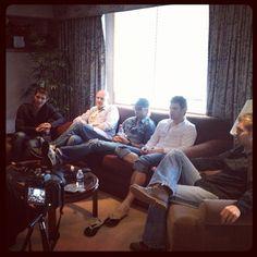 Celtic Thunder - I wonder what they are watching. Celtic Decor, Ryan Kelly, Irish Singers, Celtic Thunder, Thunder And Lightning, Irish Boys, Arthur Conan Doyle, Beautiful Voice, Music Love