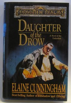 Daughter of the Drow Starlight and Shadows Vol 1 (Hardcover, 1995) Elaine Cun...