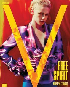 Our #V106 cover star is Kristen Stewart! Head to the link in our bio where she opens up to @chloessevigny about her new film Personal Shopper and shines bright in a colorful photo shoot with @mariotestino and @paulcavaco. Issue on stands March 9 available for pre-order now. #KristenStewart wears a @chanelofficial blazer.  via V MAGAZINE OFFICIAL INSTAGRAM - Celebrity  Fashion  Haute Couture  Advertising  Culture  Beauty  Editorial Photography  Magazine Covers  Supermodels  Runway Models