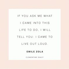 Love. This. Live out loud -- be bold. Get radical. No half-steppin. As for me, I'm gonna live it up excitedly and unashamedly for the LORD!!!