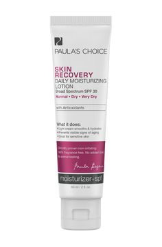 Skin Recovery Daily Moisturizing Lotion with SPF15 and Antioxidants für Normale bis sehr trockene Haut, bei Rosazea 30€