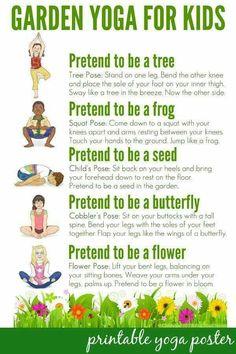 Kiddie yoga