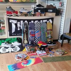 Can you say restocked.  New krux, independent, dvs, ojs, thrasher mags, thundertrucks#dvsshoecompany #dvsshoes#