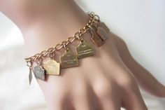 Vintage Ten Commandments Bracelet by MMVintageSweets