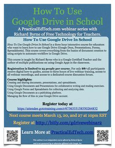By Popular Request - Another Section of How To Use Google Drive in School