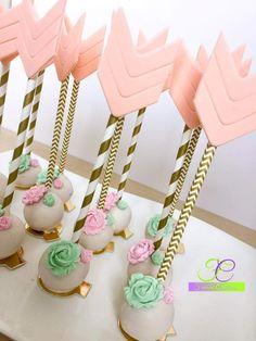 Boho cake pop