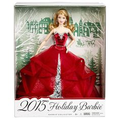 EVENING DRESS ~ MODEL MUSE BARBIE DOLL 2018 HOLIDAY RED RUFFLED TULLE GOWN H