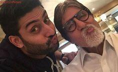 Happy Birthday Abhishek Bachchan: Amitabh Bachchan Shares Nostalgic Pic