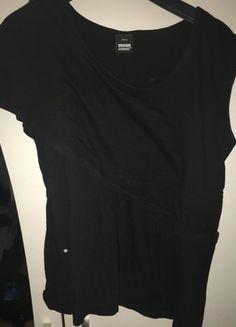 Kaufe meinen Artikel bei #Kleiderkreisel http://www.kleiderkreisel.de/damenmode/t-shirts/132482726-drdenim-jeansmakers-t-shirt-schwarz-doppeloptik-gr-s