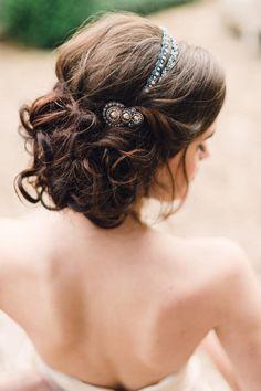 Romantic Wedding Hair Ideas, Wedding Hair & Beauty Photos by Jennifer C Nieman