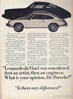 23 Brilliant Vintage Porsche Ads - Airows