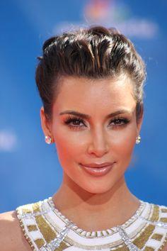 Kim kardashian braided updo kim kardashian updo and lovelies kim kardashian grecian hairstyleshalf updo pmusecretfo Images