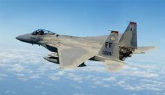 Capt. Matt Bruckner, an F-15 Eagle pilot assigned to the 71st Fighter Squadron, 1st Fighter Wing, at Langley Air Force Base, Va., flies a combat air patrol mission 7 October 2007 over Washington, D.C., in support of Operation Noble Eagle. The aircraft is a McDonnell Douglas F-15C-35-MC Eagle (s/n 83-0026).