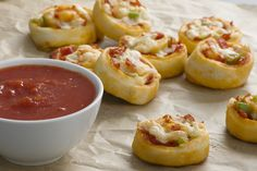 Pepperoni Pizza Pinwheels Image 1