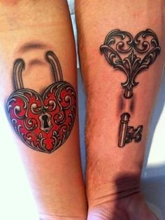 14 Couple Tattoos Ideas for This Valentine Follow BabyCakesx  for more great pins